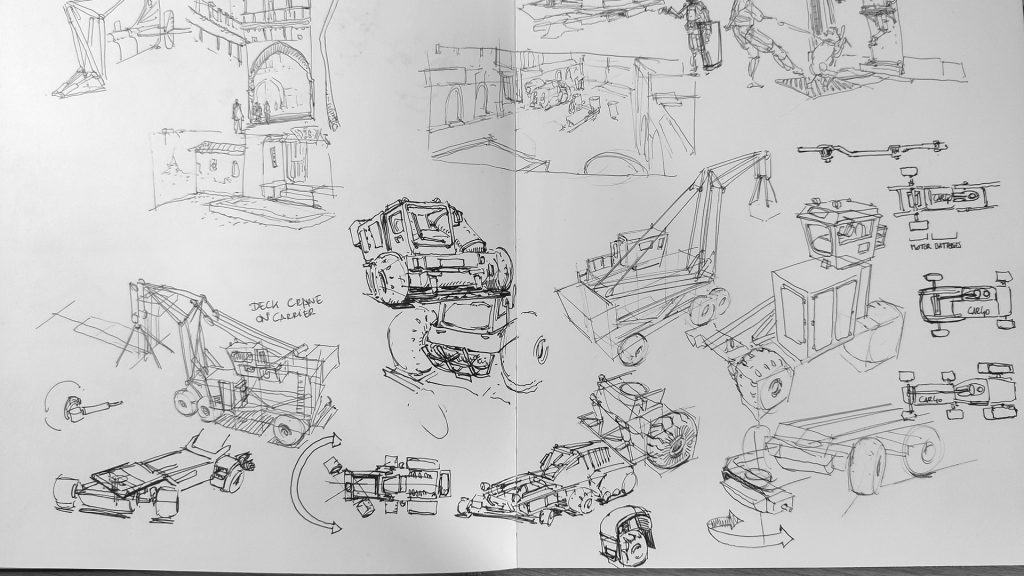 Vehicle Workflow Practice and studies