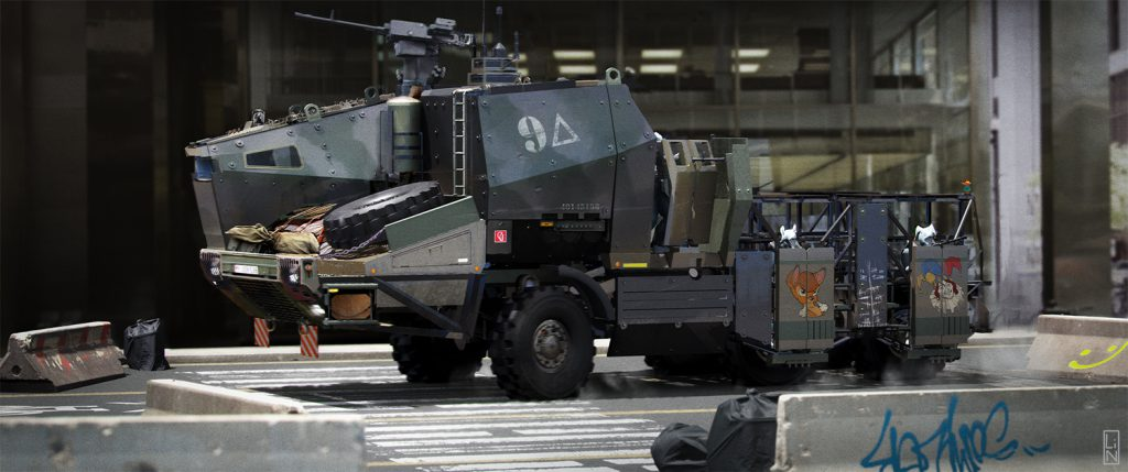 Armored Truck Project
